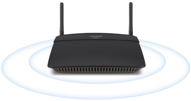 Router Smart Wi-Fi AC1200 Linksys EA6100