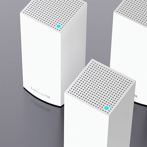Linksys Atlas Pro 6 Dual-Band Mesh WiFi 6 System, 3-Pack