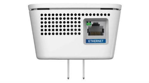Connect a game console, Blu-ray player, or Smart TV to the AC1750 Gigabit Ethernet port