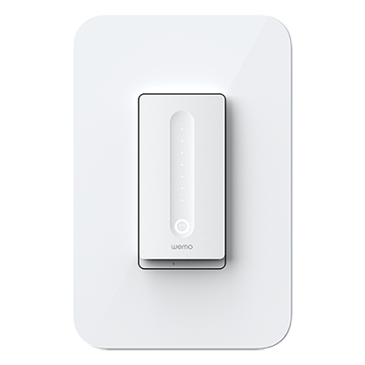 Wemo WiFi Smart Dimmer Product Shot