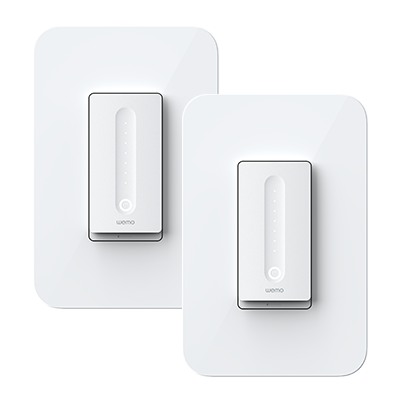 Wemo WiFi Smart Dimmer 2-Pack Product Shot