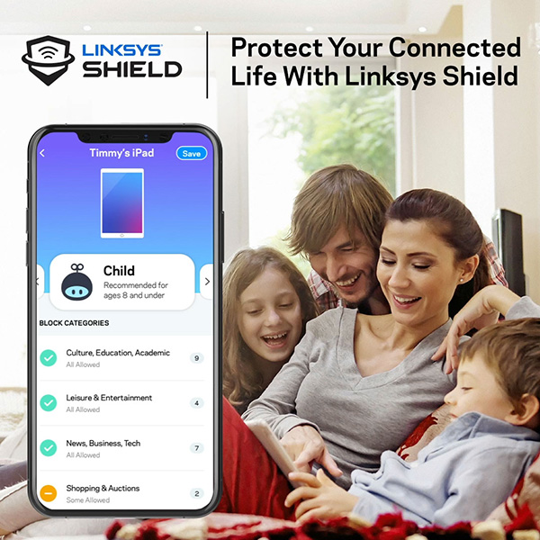 Linksys Shield