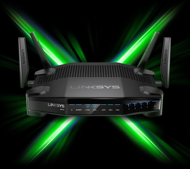 the Linksys WRT32XB Gaming Router