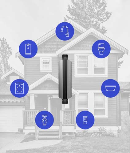 Phyn is a single device that can track water usage throughout the entire home